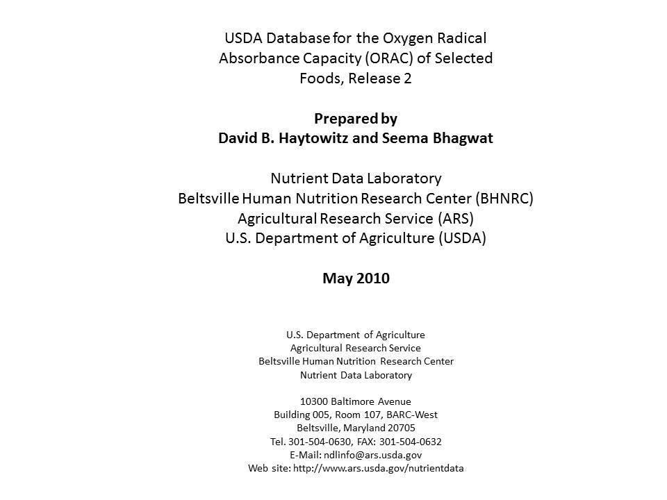 FREE Scientific Paper: ORAC Values on Essential Oils -        Instant Download