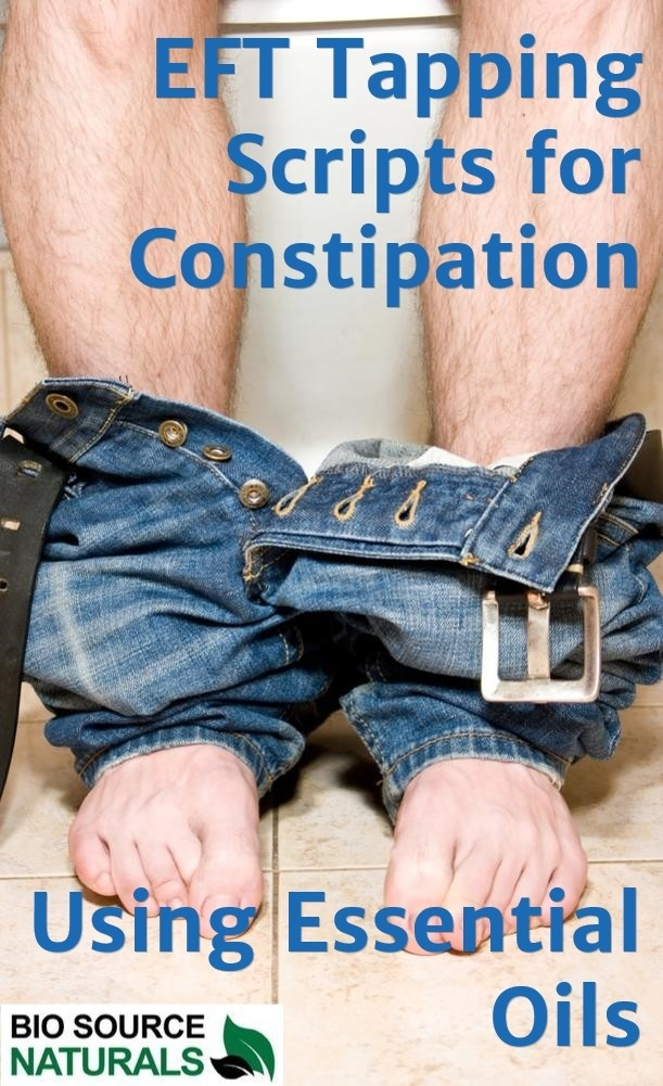 FREE EFT (Emotional Freedom Techniques) Tapping Scripts for Constipation  - EOTT™