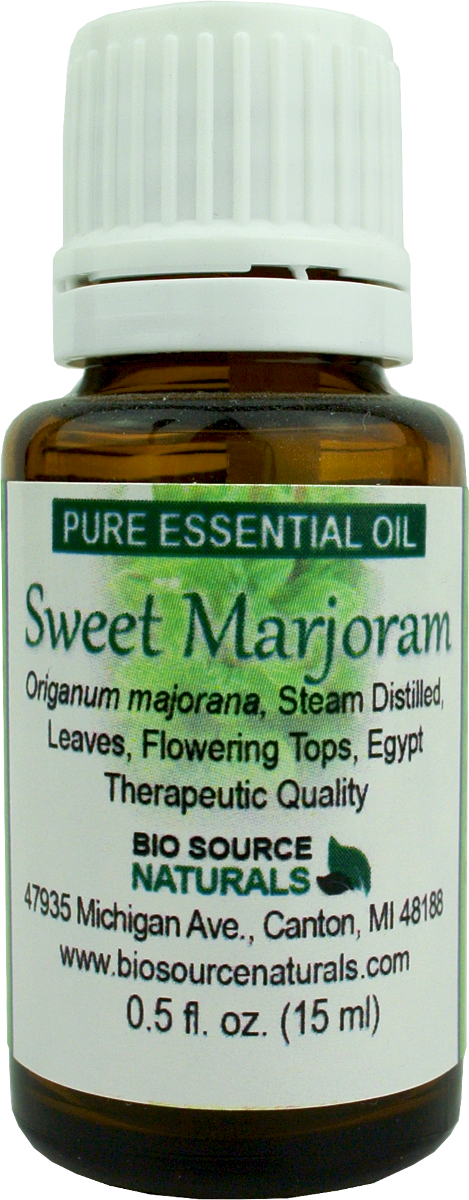 Sweet Marjoram Pure Essential Oil with Analysis Report