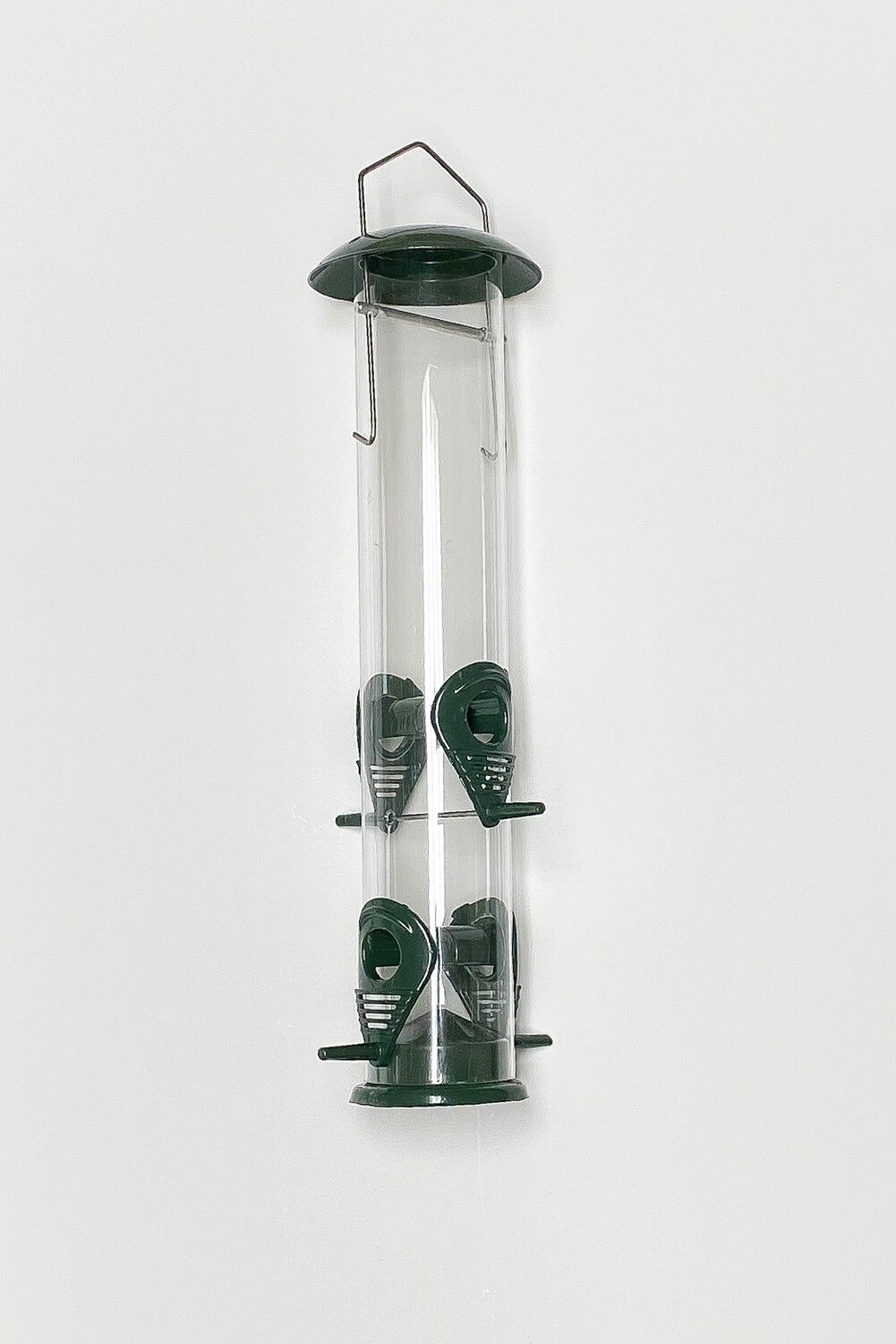 **** FREE SHIPPING **** Bird Feeder - Tube with 4-Metal Ports.