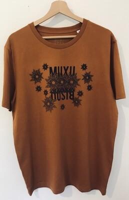 T-shirt Coton Bio - #muxu/bisou
