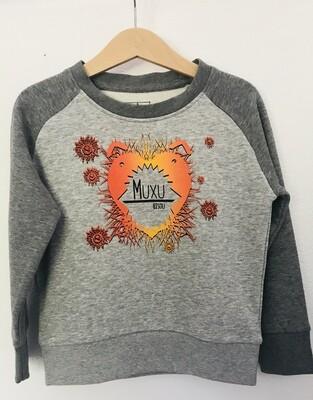 SWEAT coton bio #muxu/bisou