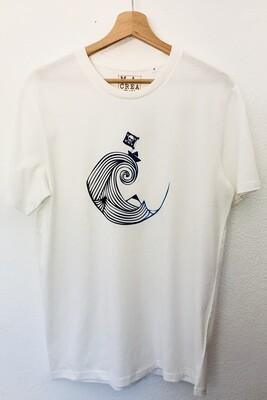 T-shirt Coton Bio - #piratedepapier
