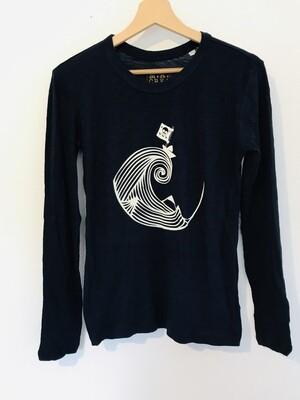 T-shirt manches longues en Coton Bio #Piratedepapier