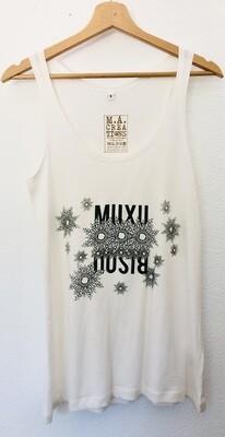 Débardeur Coton Bio - #Muxu/Bisou