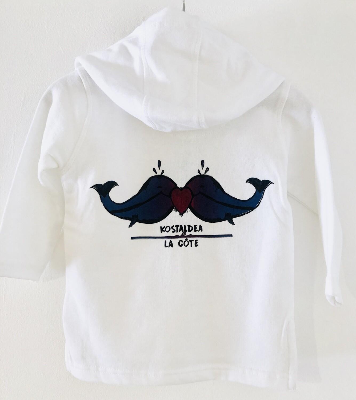 Veste à capuche Bébé- #kostaldea/lacôte