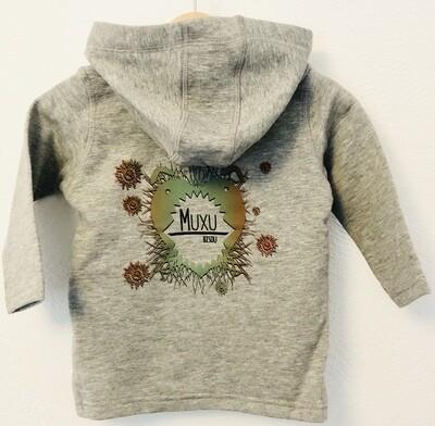 Veste à capuche Bébé- #Muxu/Bisou