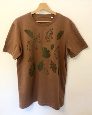 T-shirt Coton Bio - #Lesfeuillesmortes