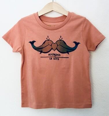 T-SHIRT ENFANT manches courtes en coton Bio - #kostaldea/lacôte