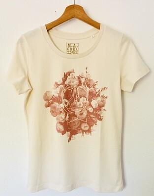 T-shirt ajusté Coton Bio - #leparfum