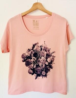 "T-shirt ""Loose"" Coton Bio - #leparfum"