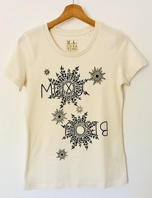 T-shirt ajusté Coton Bio - #Muxu/Bisou