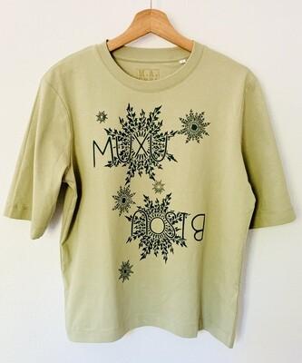"""T-shirt """"confort"""" Coton Bio - #Muxu/Bisou"""