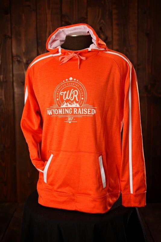 Wyoming Raised Stoked Tonal Heather Orange/White