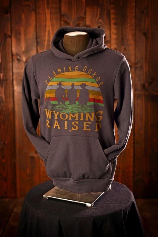 Wyoming Raised Sponge Fleece Hoodie