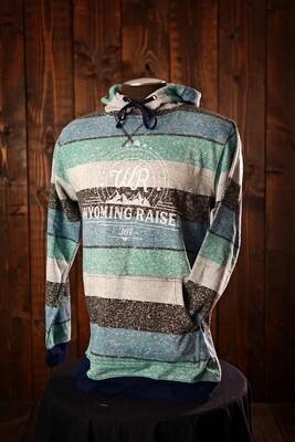 Wyoming Raised Burnside Pullover Hoodie