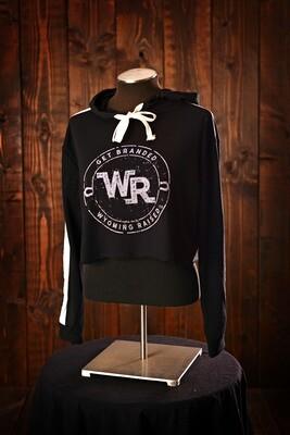 Wyoming Raised Get Branded half hoodie