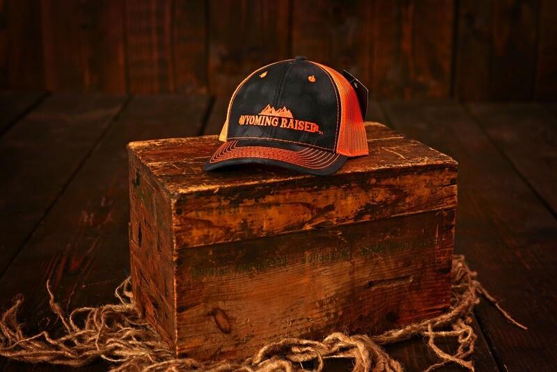 Wyoming Raised Orange/Black