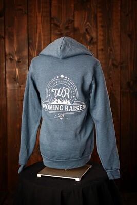 Wyoming Raised Zip Up Hoodie