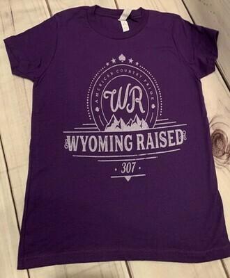 WR Youth Purple TShirt