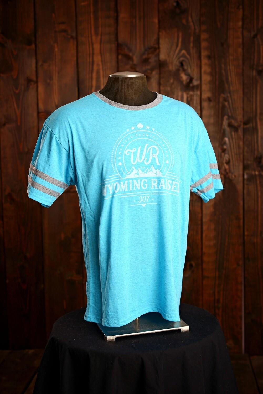 WR Caribbean Blue Ringer Tshirt
