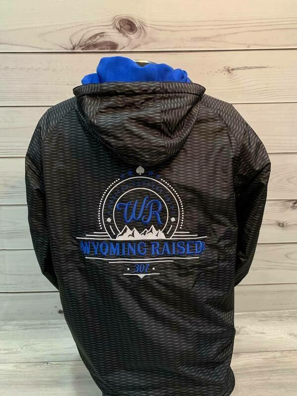 WR Jacket Black/ ROYAL