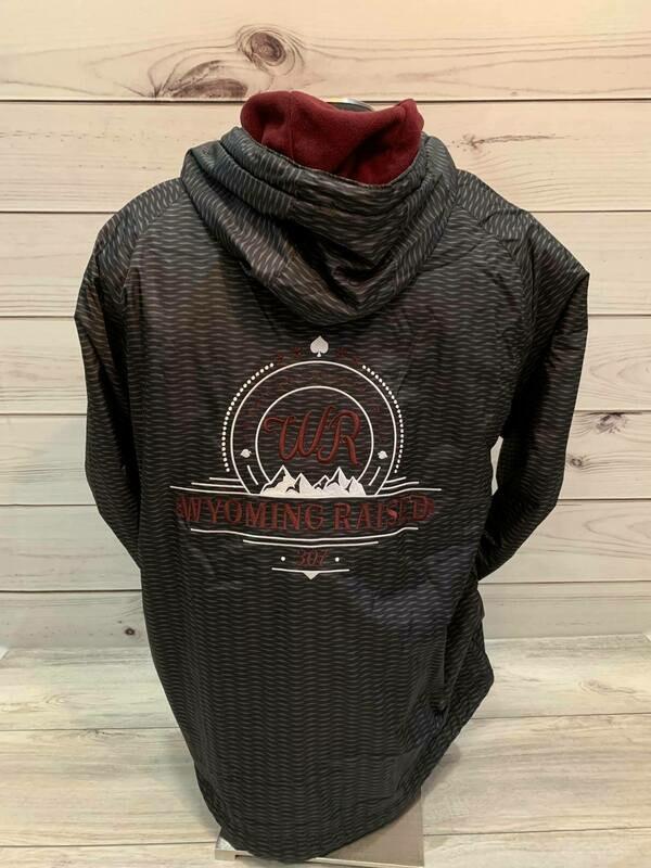 WR Jacket Black/Burgundy