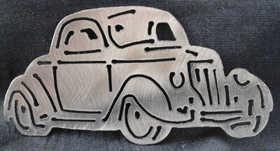 1936 Ford 3 Window Coupe 5″, Wall Art Decor/Magnet/Key Chain