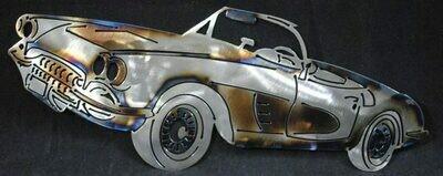 1958 Chevy Corvette 16″, Wall Art Decor