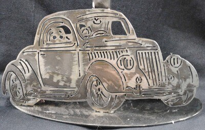 1936 Ford 3 Window Coupe Table Lamp