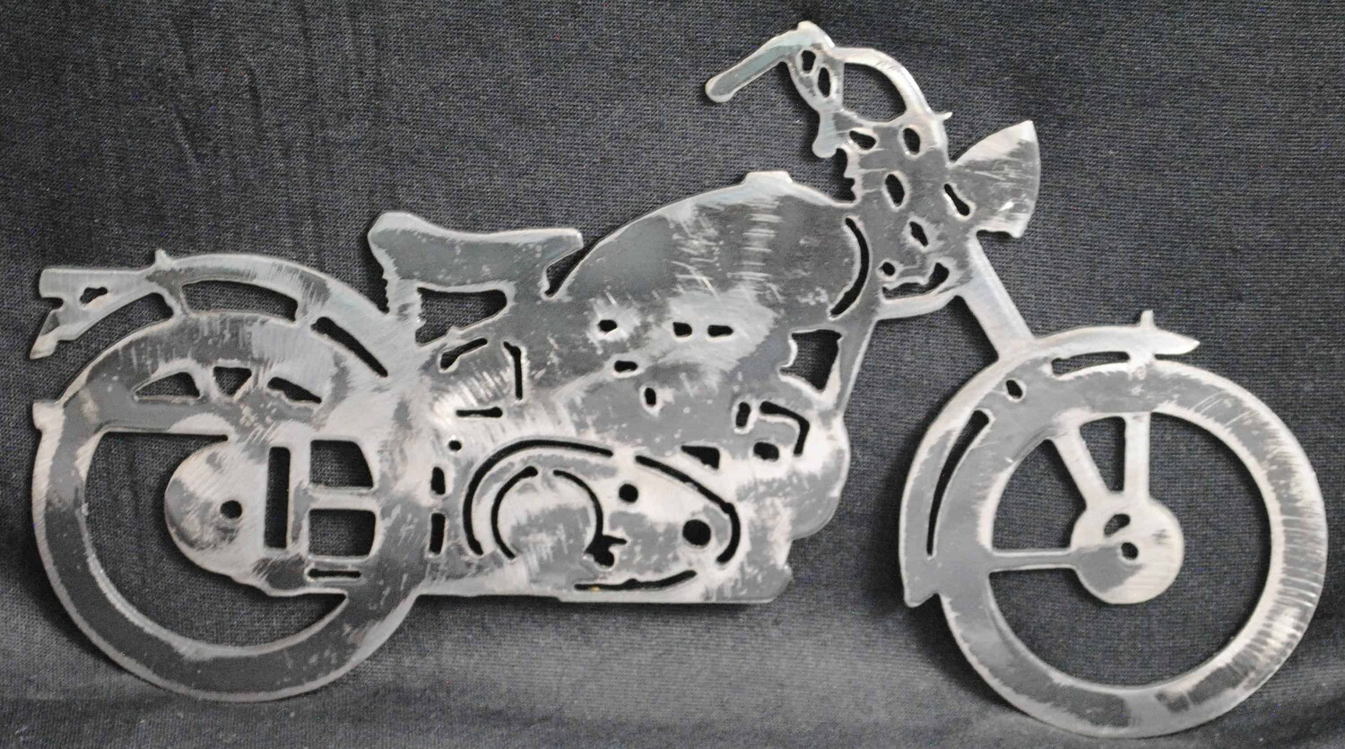 1948 Hummer Style Motorcycle 11″, Wall Art