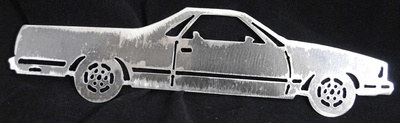 1978 Chevy El Camino 12″ Metal Wall Art Decor