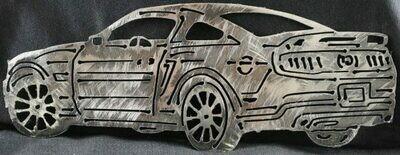 2011 Chevy Camaro Metal Wall Art