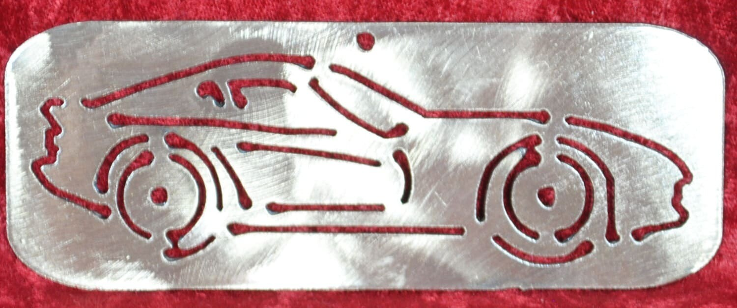 2000 Dodge Viper cut in, Wall Hanging, Magnet