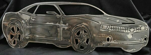 2011 Chevy Camaro side view 16″ Metal Wall Art Decor