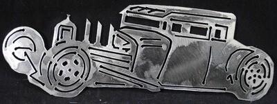 32 Ford Rat Rod 10″ Metal Wall Art Decor