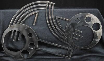 Art Deco design 1, Metal Wall Art