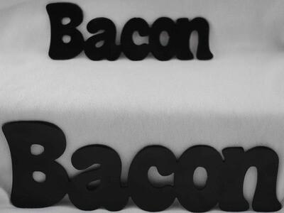 Bacon, Metal Word