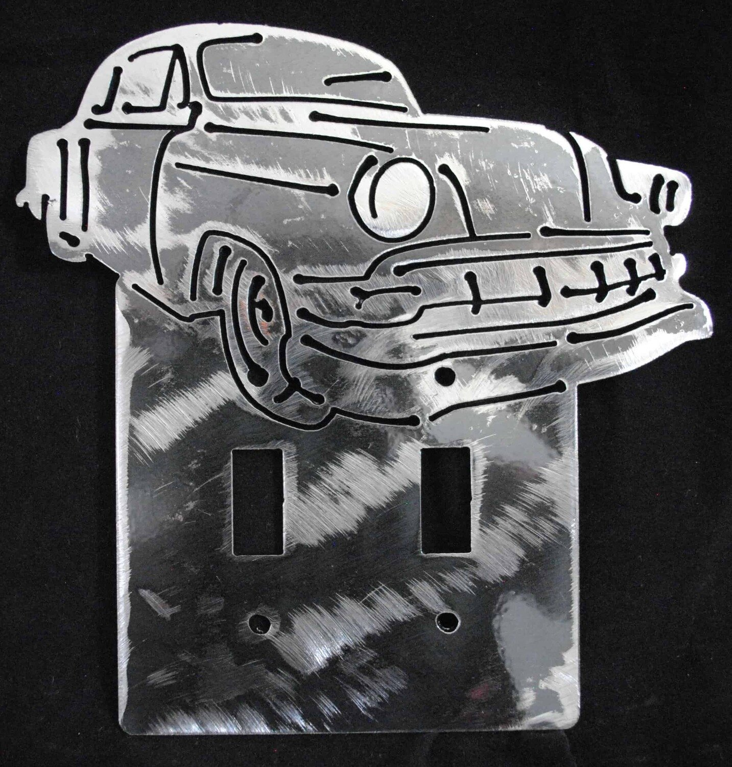 54 Chevy Bel Air Sedan Double Light Switch Cover