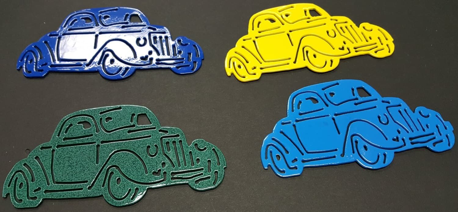 1936 Ford 3 Window Coupe Christmas Tree Ornaments, Stocking Stuffer