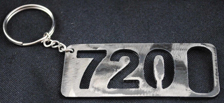 720 Bottle Opener, Keychain, Metal Beer Bottle Opener, Colorado Area Code