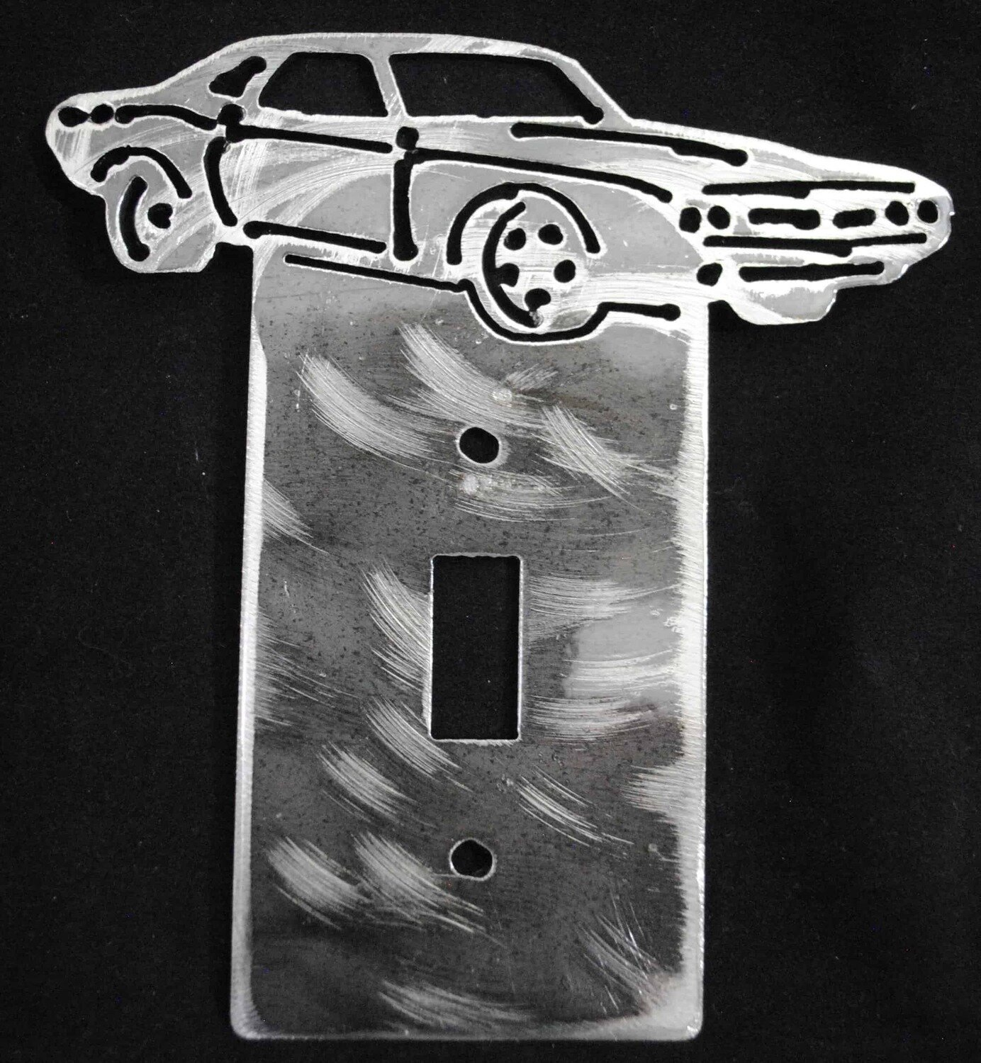 1970 Dodge Challenger Metal Light Switch Cover Plate