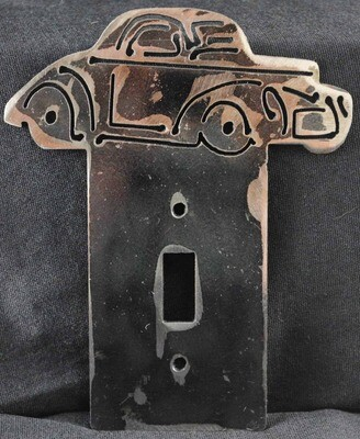 1941 Willys Hot Rod Light Switch Cover Plate