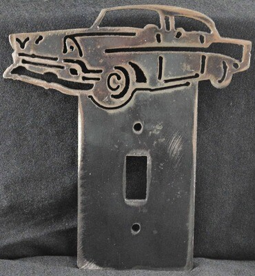 1956 Chevy Bel Air Metal Light Switch Cover Plate