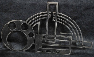 Metal Art Deco design 2