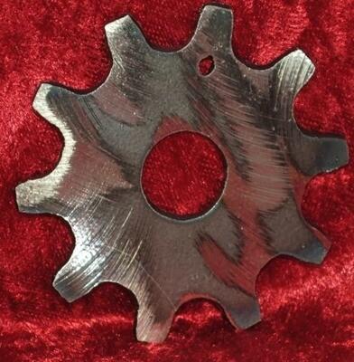 Front Gear Sprocket, Small Metal Wall Art