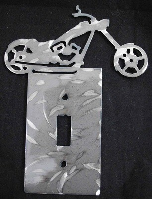 Chopper Style Light Switch Cover Plate