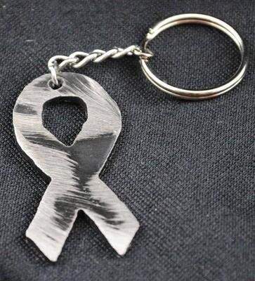 Metal Ribbon Key Chain