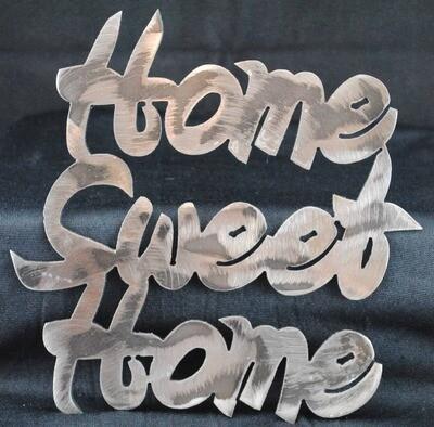 Home Sweet Home, Metal Sign