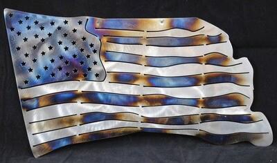 American Flag, Metal Wall Art Decor
